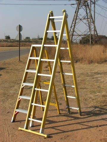 Trugrid step & extension ladder-1